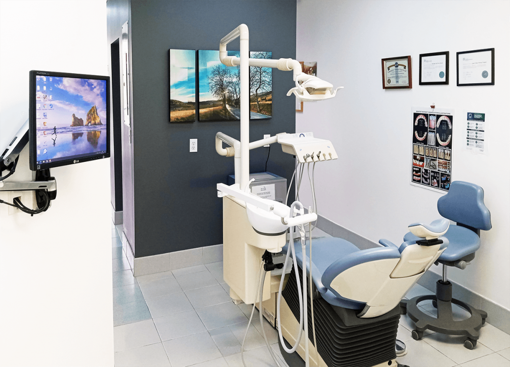 Intérieure clinique dentaire Montréal salle 4