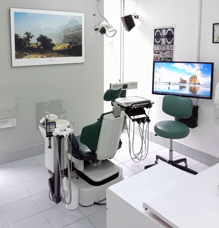 Intérieure clinique dentaire Montréal salle 3