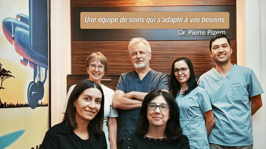 Dentiste Montréal - équipe Dr Pizem clinique dentaire Westmount